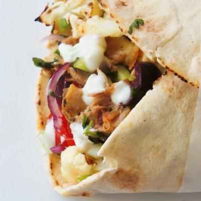 Greek Chicken Wrap Recipe