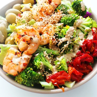 Easy Avocado Shrimp Salad