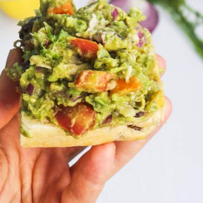 Healthy Chicken Salad With Avocado (Paleo, Low Carb, Gluten Free)