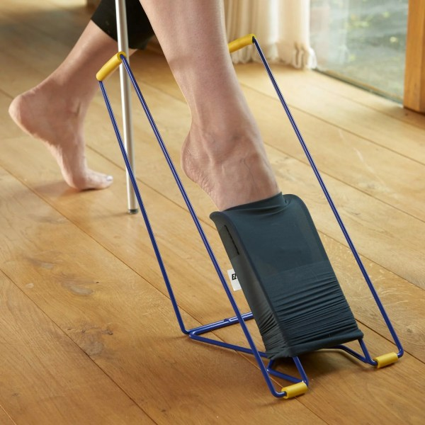 The Ezy-On Tall compression frame is ideal for compression stockings after surgery