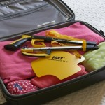 Helping Hand Travel Kit -including a Classic Pro folding reacher/grabber & a Foxy Sock Stocking aid. Maintain your independence even when your away from home.