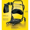 Height adjustable, the Cricket II has an foot guard that contributes towards a better seated position and an articulating knee pad that provides superior support. It also features an ergonomically designed backrest for increased comfort. Widely used to support reablement following a spell in hospital.