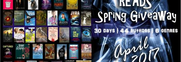 Announcement: Clean Indie Reads Spring Giveaway