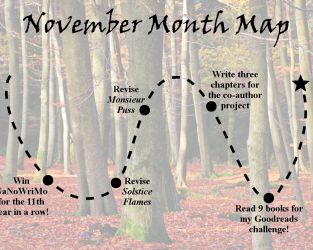 Lieutenant Junior Grade's Log, Entry 10: NaNoWriMo is HERE!