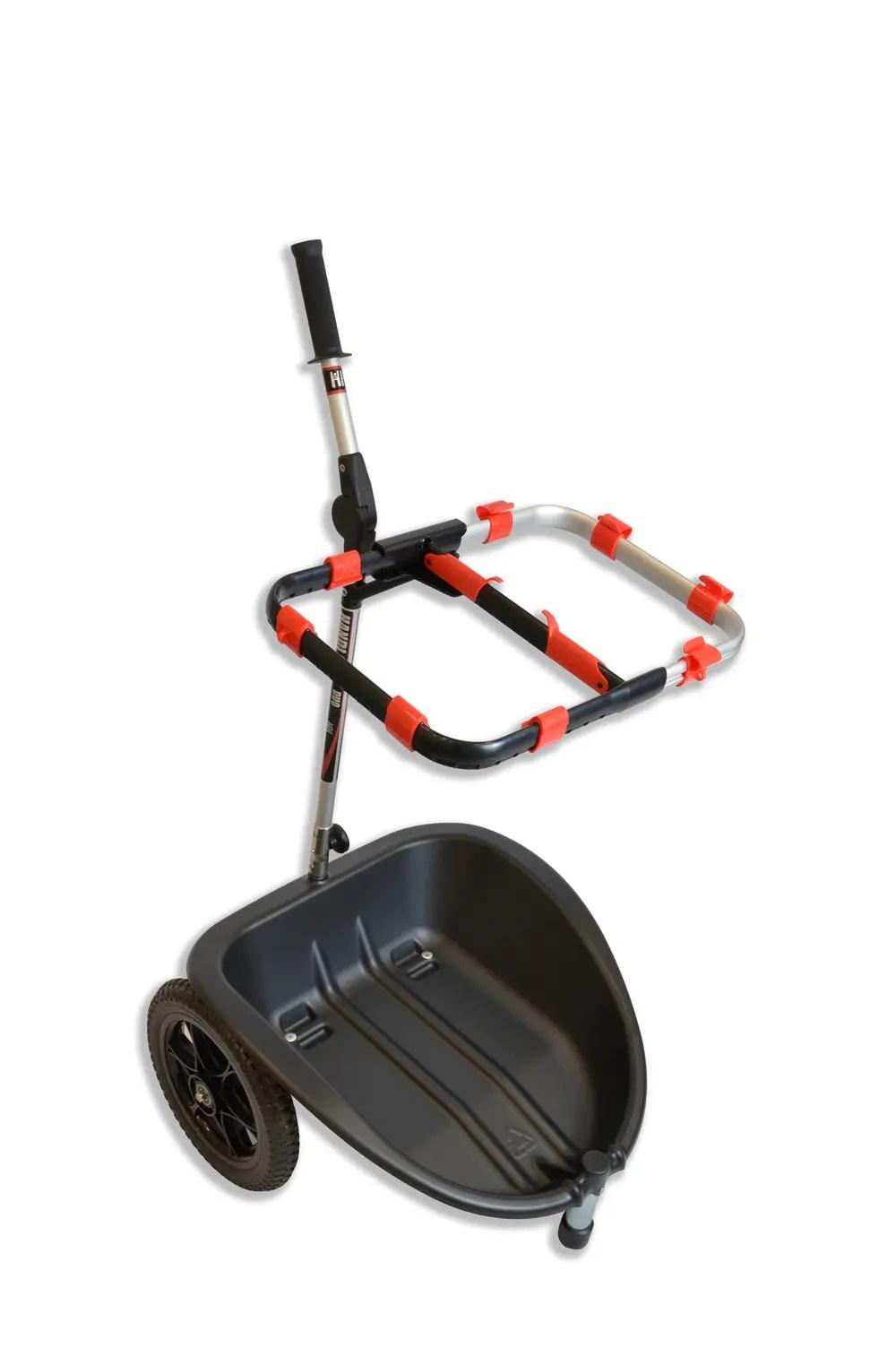 Handi Cart Duo with hoop no bags