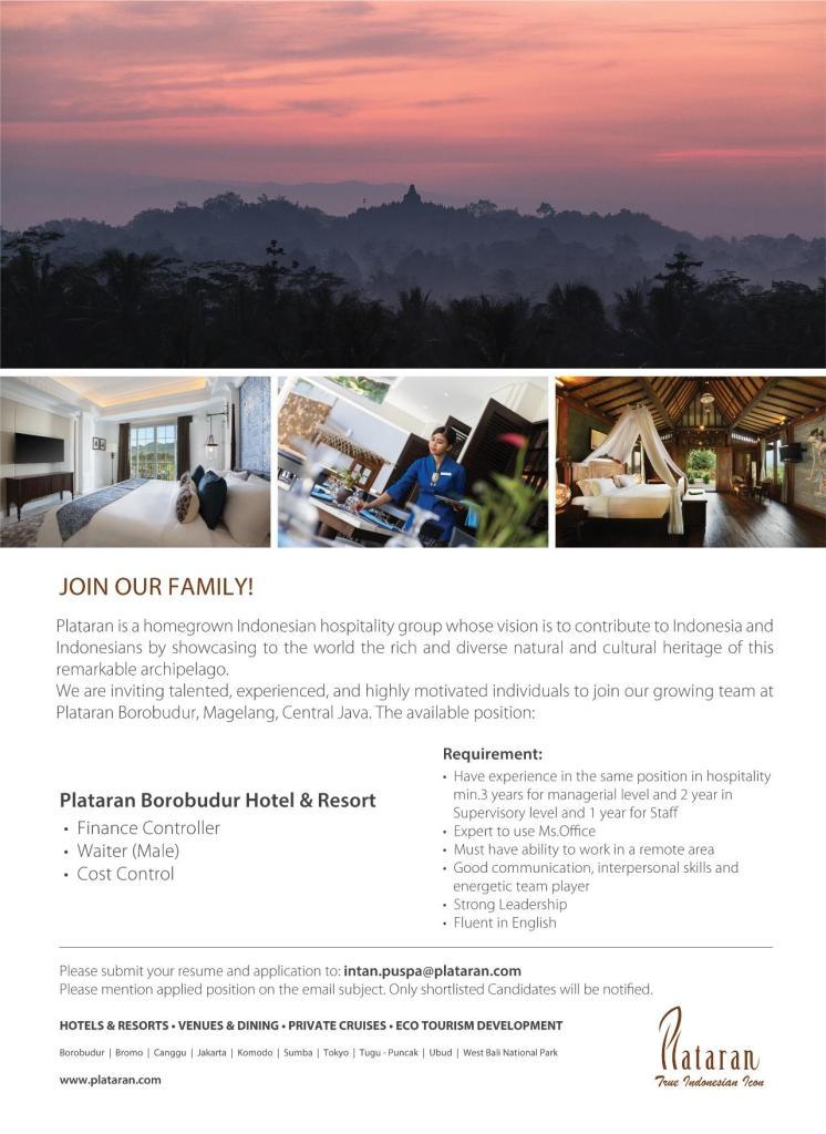 plataran borobudur hotel & resorts
