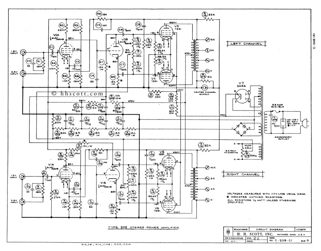 Anyone Know Of A Good Pp Schematic Or 6l6gc