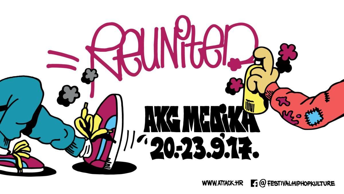 Reunited festival hip hop kulture @ Medika, 20.-23.9.2017.