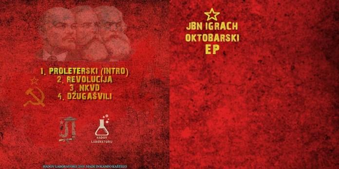 Jbn Igrach - Oktobarski EP (2019) back + front cover