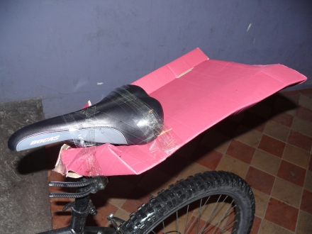 How to macguyver a mudguard