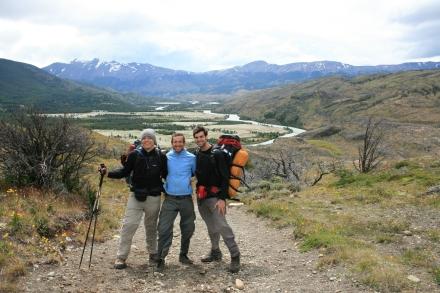 Trekking in Torres del Paine