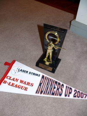 Laserstrike Runners up