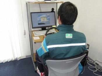 NASVAネット機器の導入による運転適性検査受診