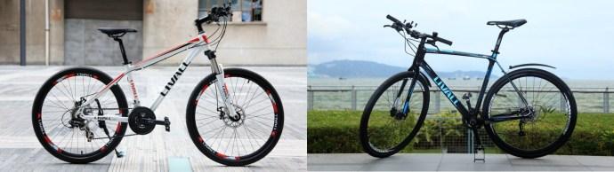 LIVALL Smart Bikes both