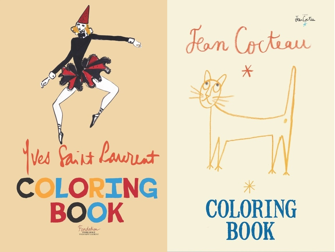 Coloring book yves saint laurent - One Of The Things My Niece Likes To Do Is Color And As An Adult Those Coloring Books Are No Fun Recently Adult Colouring Books Have Become Very Popular And