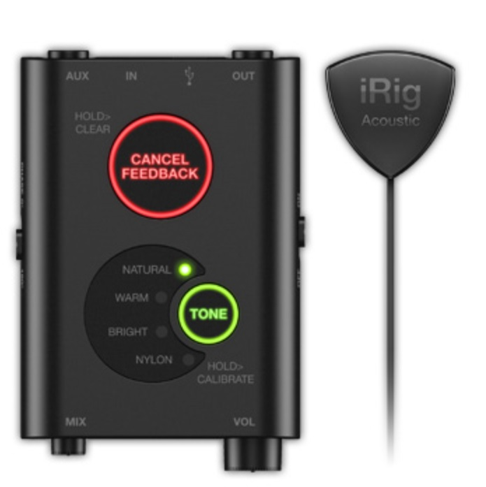 IK Multimedia Announces iRig Acoustic Stage - Digital Microphone System for Acoustic Guitar