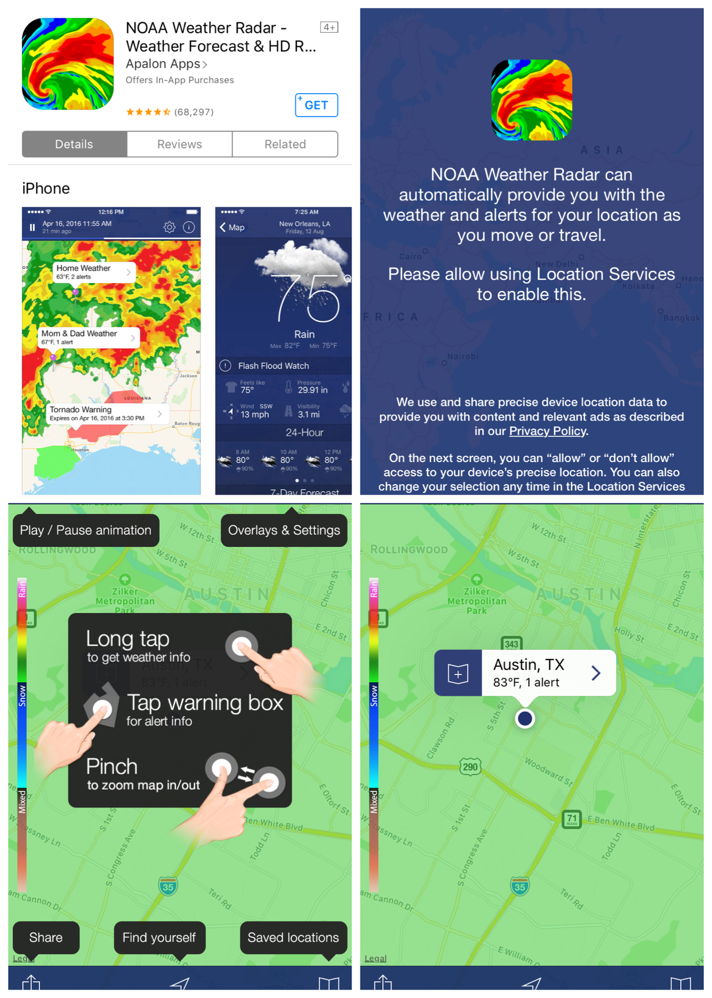 Hurricane Harvey Tracking Apps and Safety Tips   Hi-tech Chic