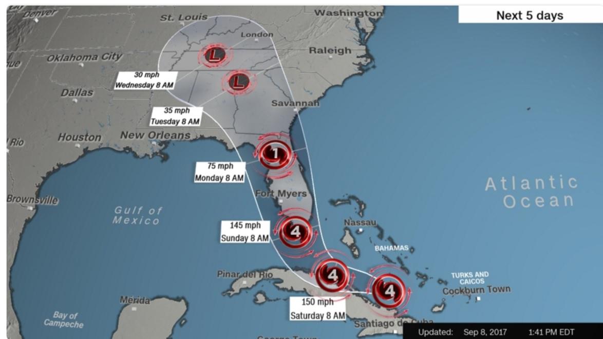 Irma Map T