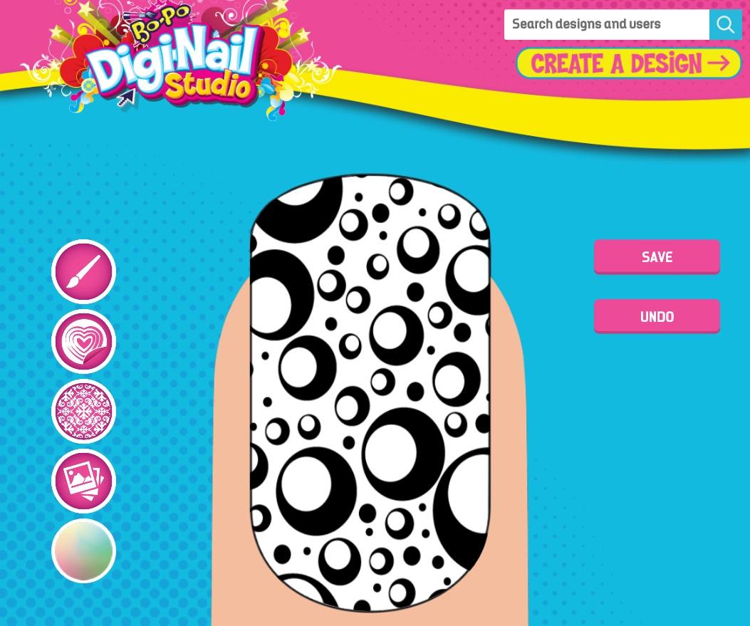 Bo Po Digi Nail Studio Kit And App Hi Tech Chic