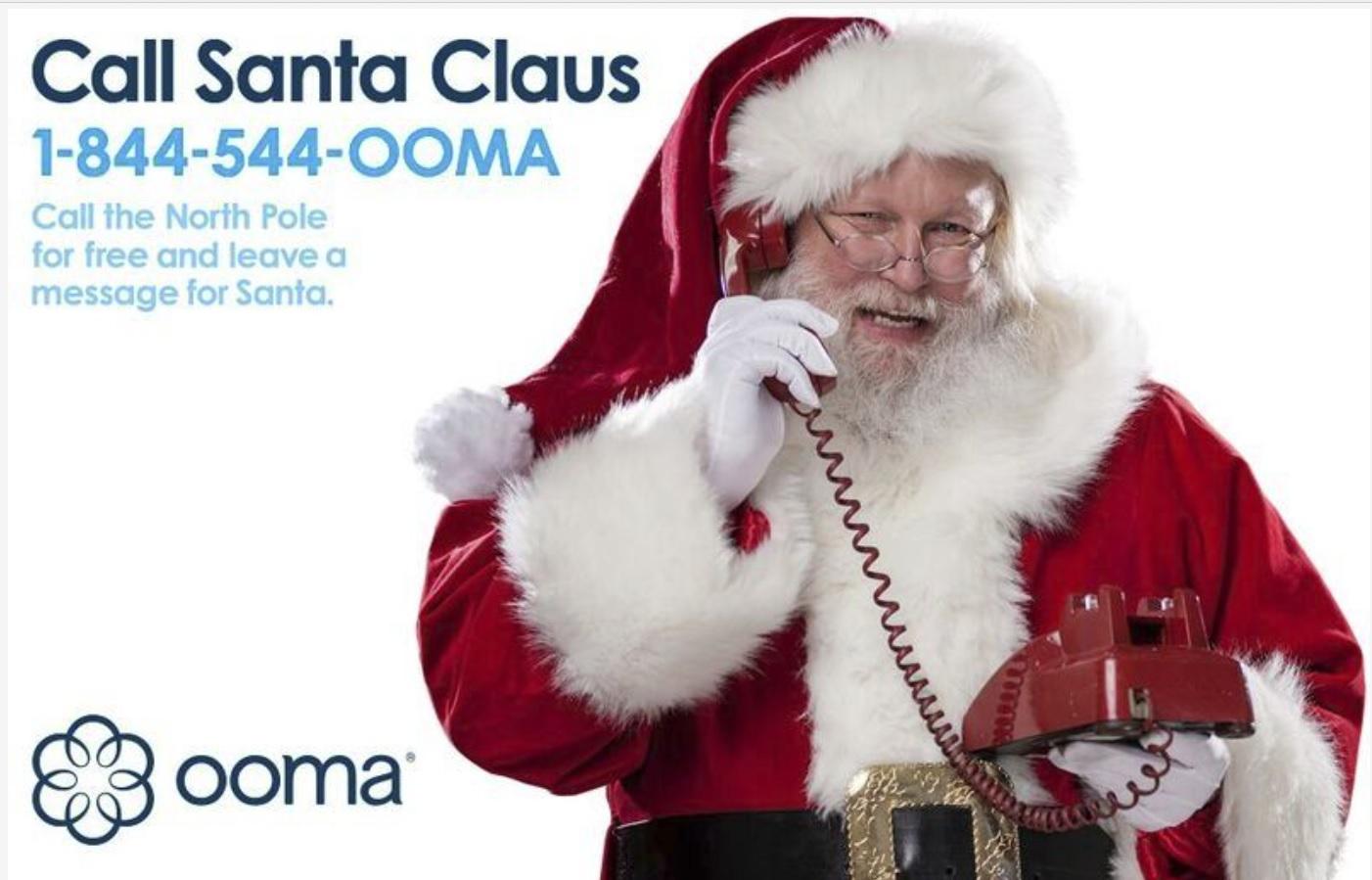 OOMA Holiday Santa
