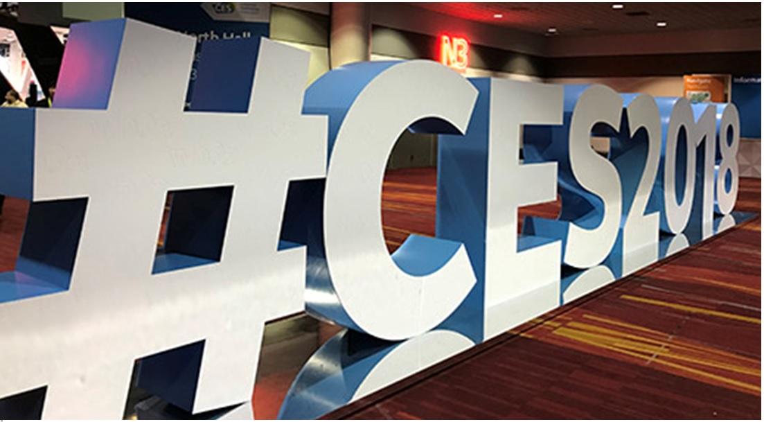 CES 2018 Hashtag