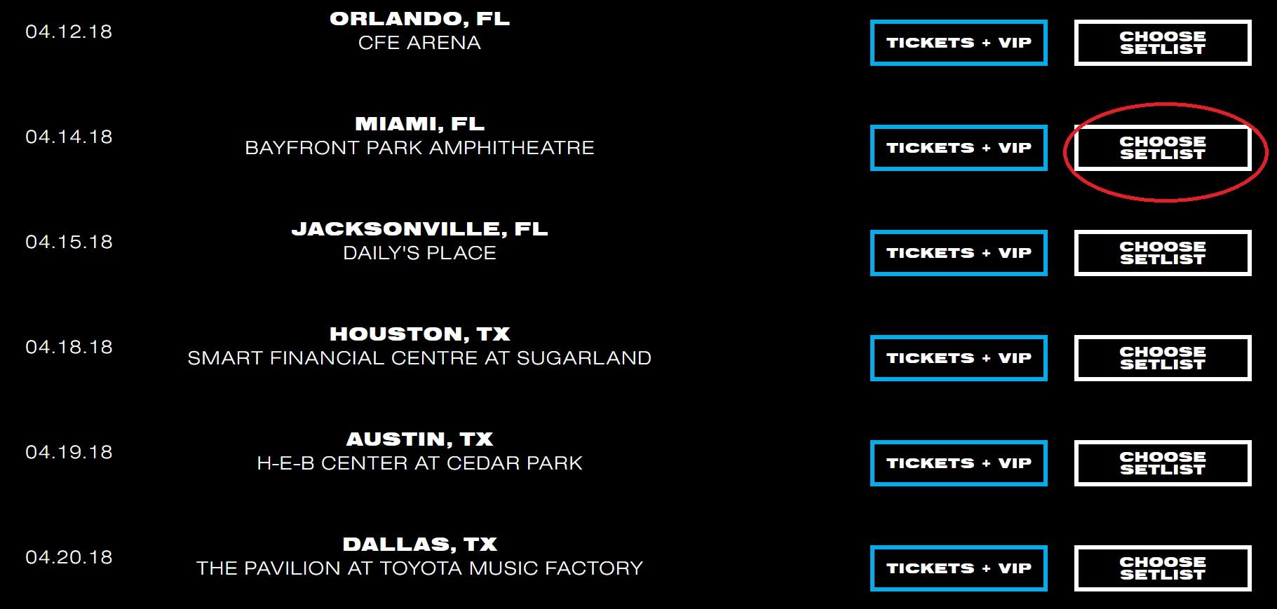 Big Sean Setlist