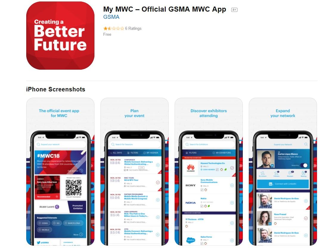 Mobile World Congress App