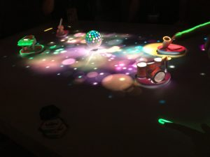 News atx interactive tabletop projector is a technology to create public and interactive ar space the system recognizes fingers touching a table or floating in air fandeluxe Choice Image