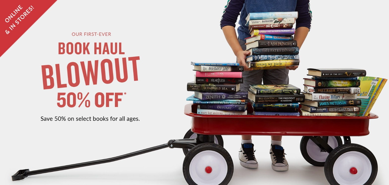 Barnes Noble Launches First Ever Book Haul Blowout With 50 Off