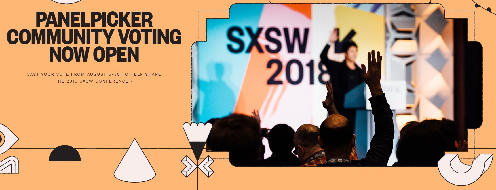 SXSW 2019 Panel Picker Open