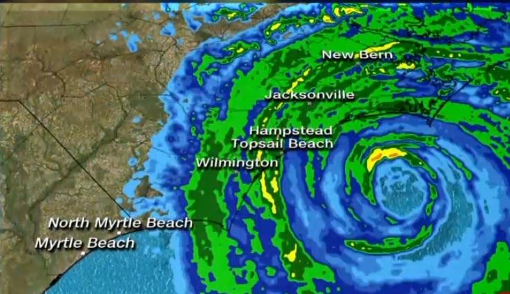 Hurricane Florence EYE