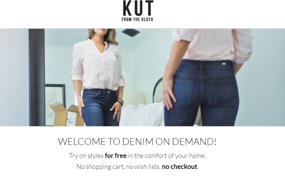 Kut From Cloth Welcome