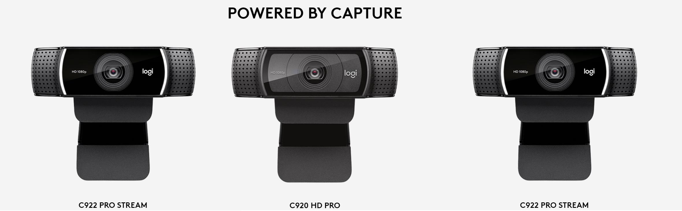 Logi Capture Cameras supported