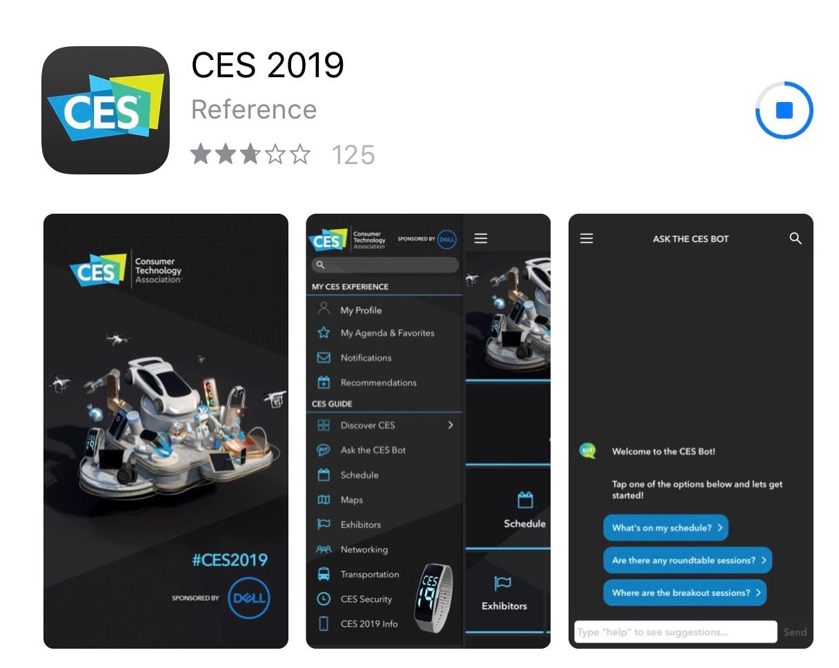 CES 2019 App