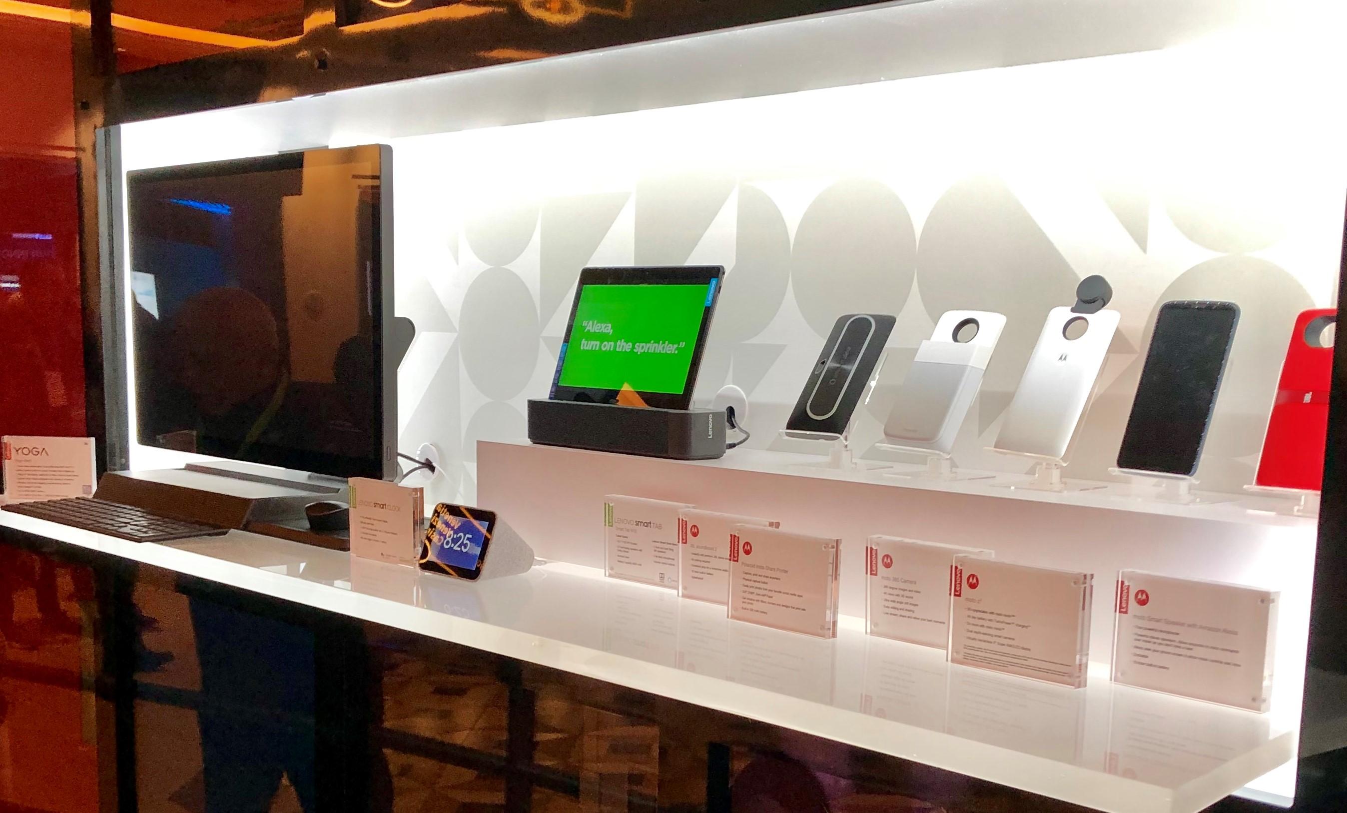 Lenovo 2019 Wall Smart Clock