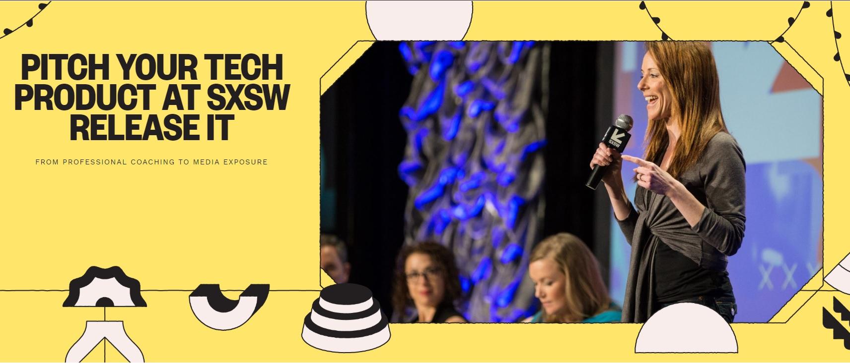 SXSW 2019 Pitch It