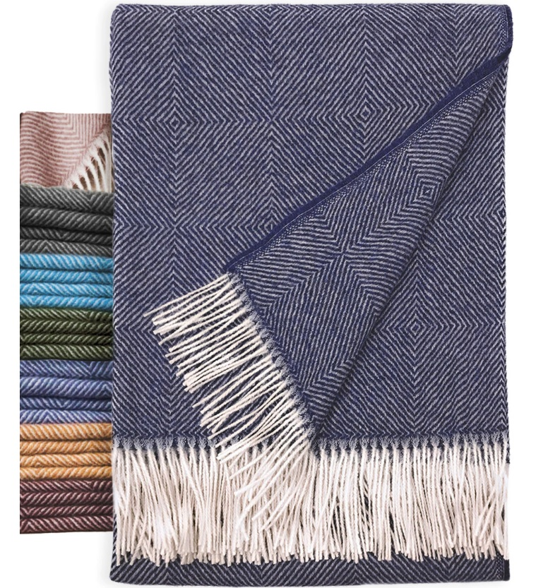 ce8dcae760201 The Monopoly Throw is made from 100% baby alpaca