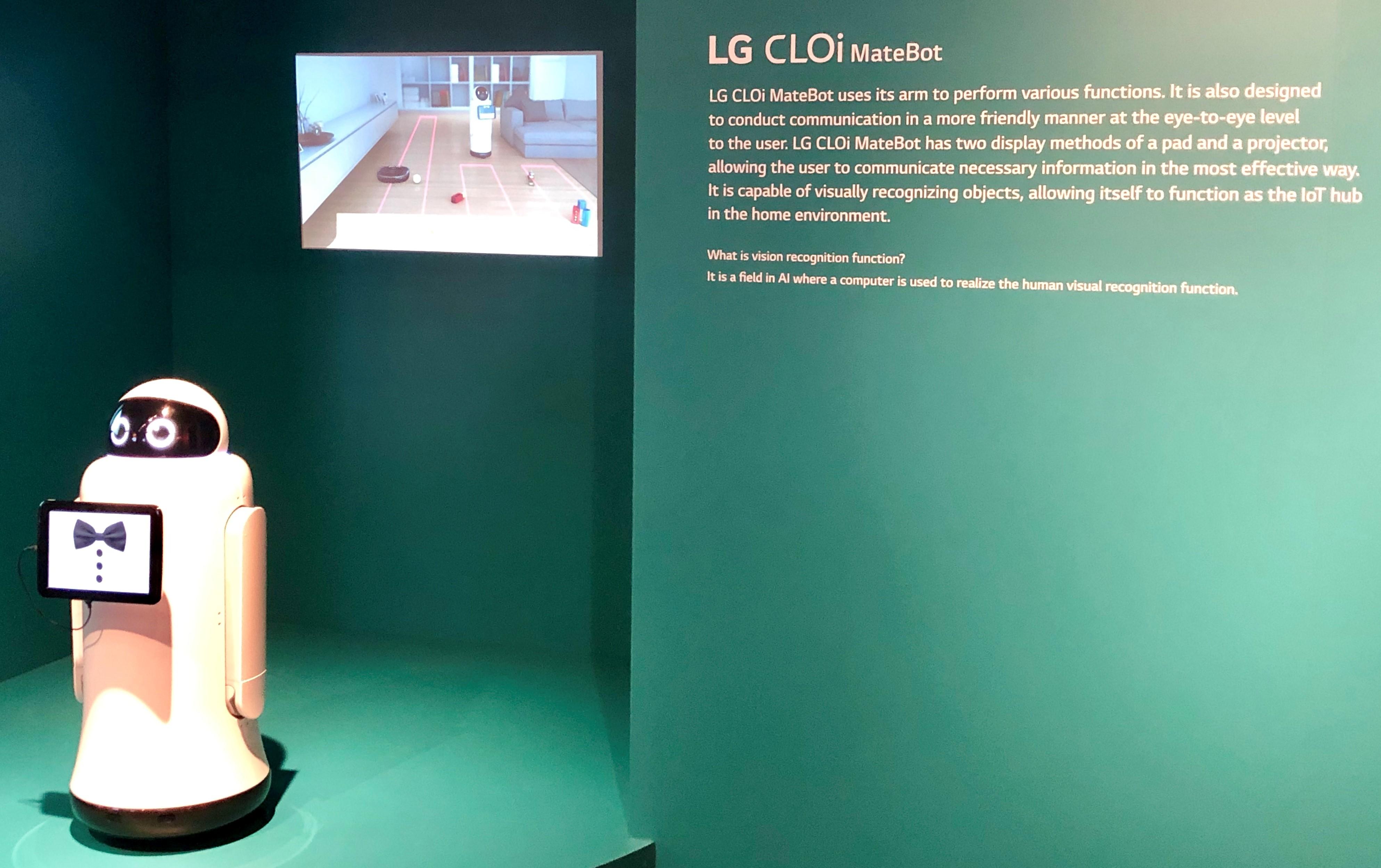 LG CLOi Matebot SXSW