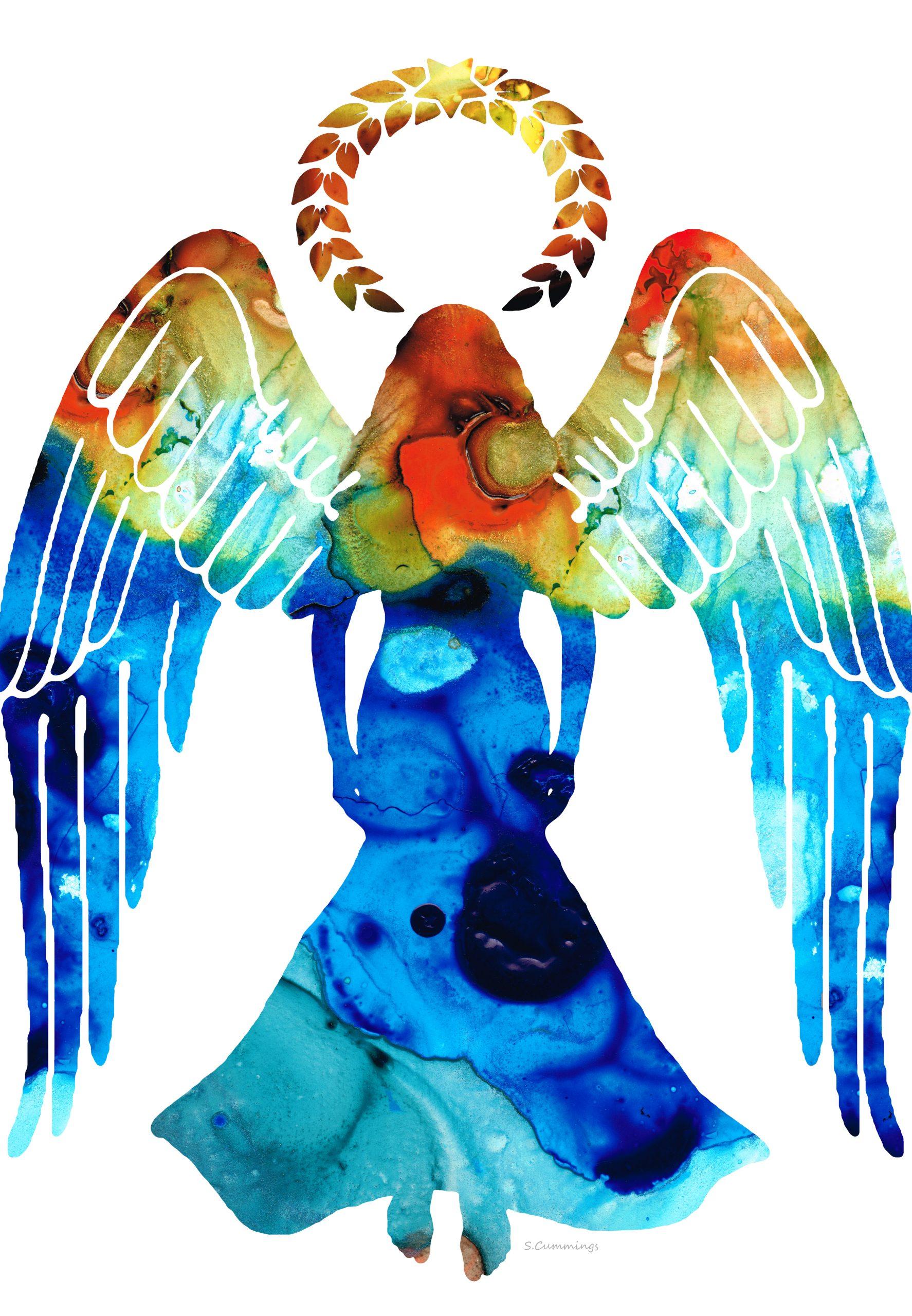 (HEALING) Guardian Angel by Sharon Cummings