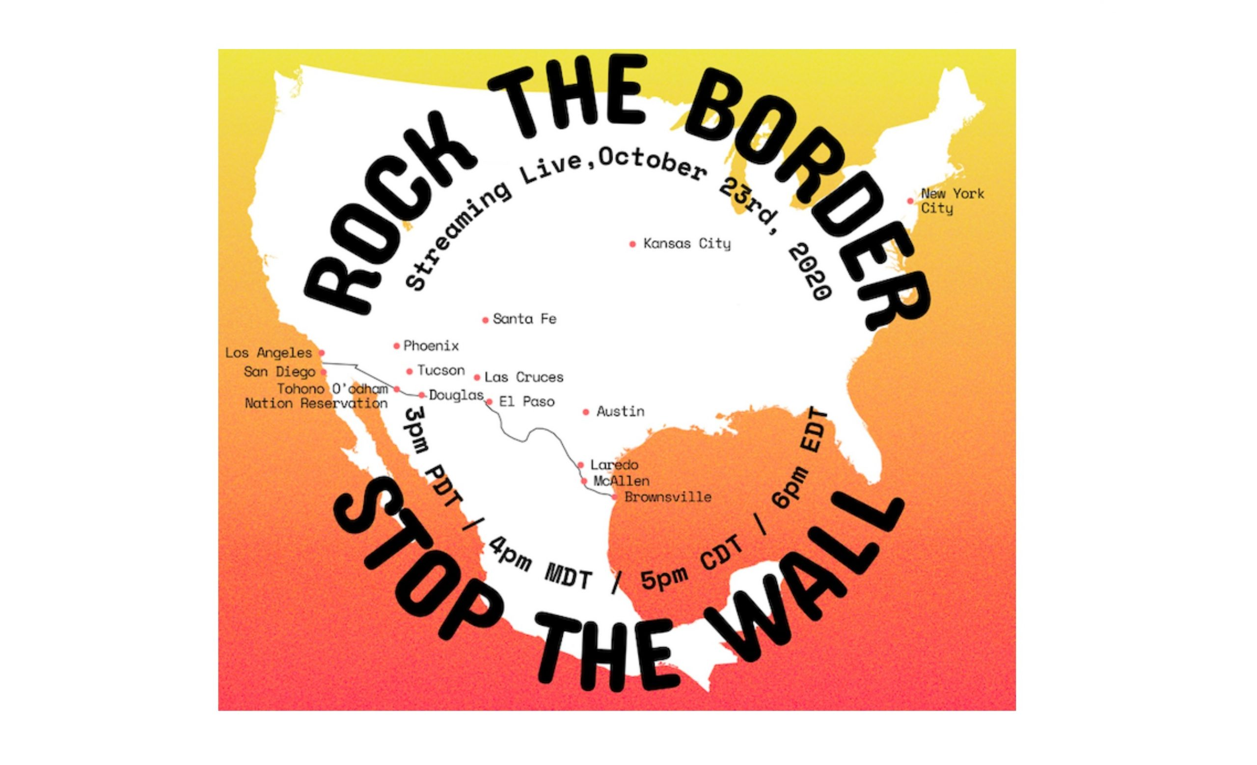 Rock the Border Border