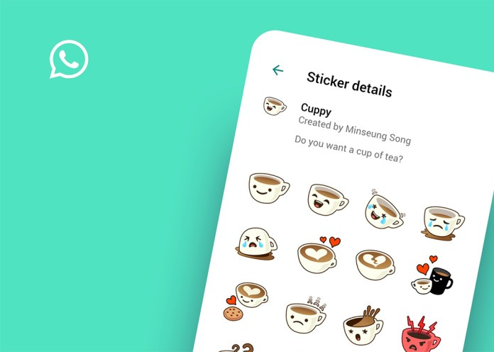 WhatsApp is seeking to support animated sticker packs soon that are an evolution of the current poster feature
