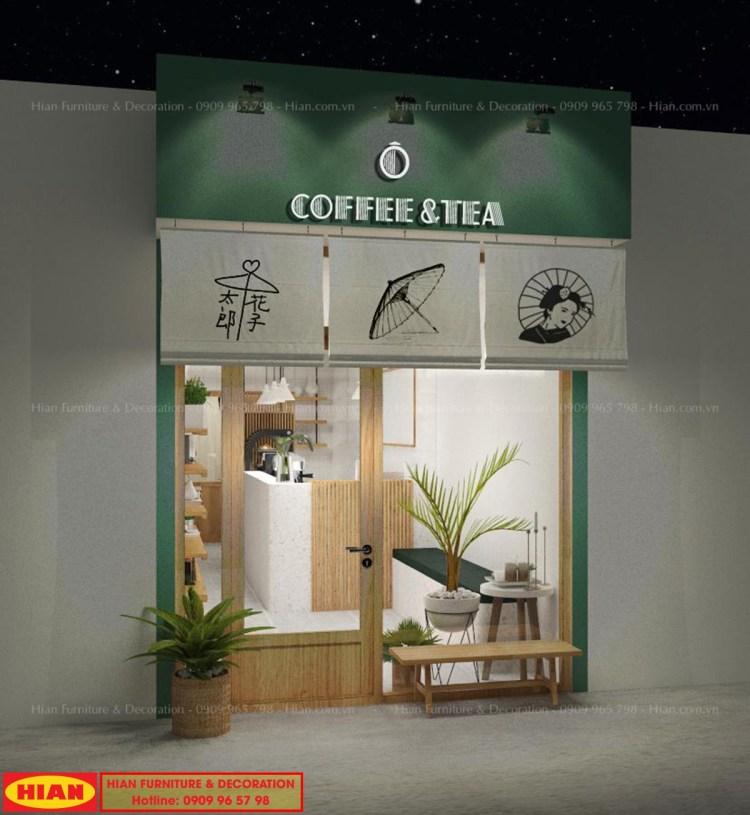 Thiết Kế Quán Cafe Phong Cách Tối Giản
