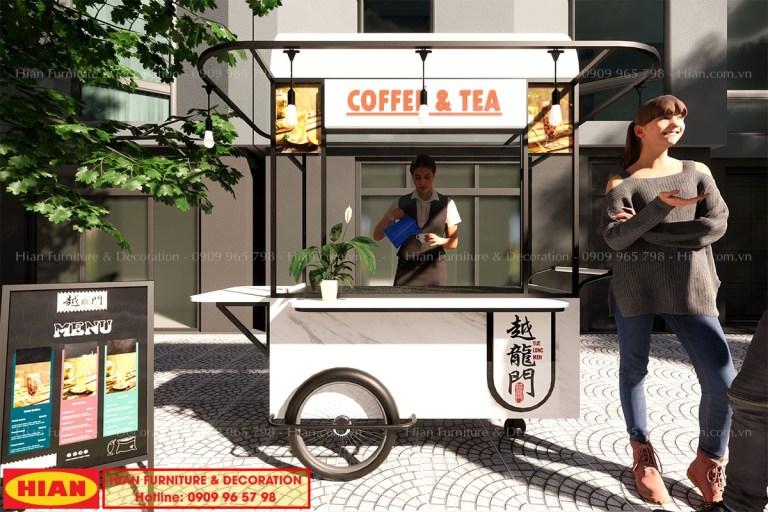 Thiết Kế Quầy Cafe Take Away Đẹp
