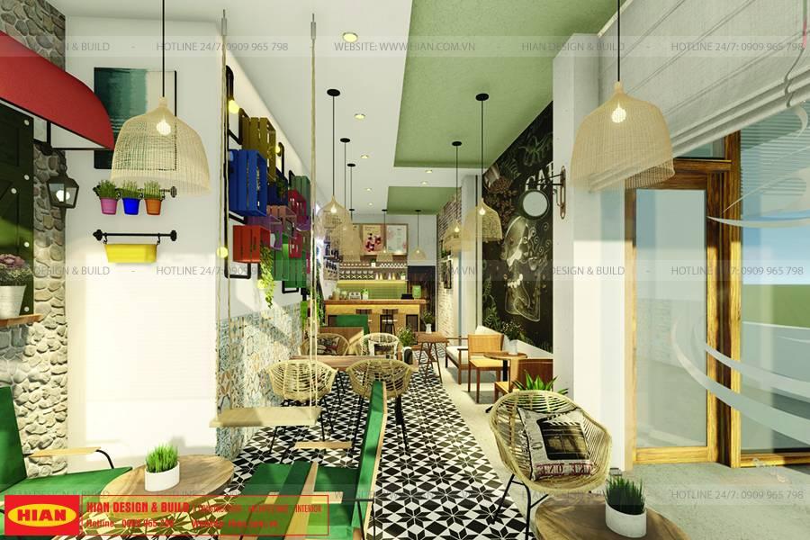 thiết kế thi công quán oh rituo p59