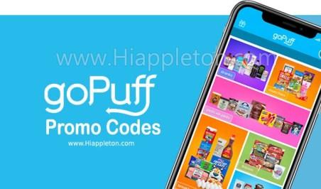 GoPuff Discount Code 2020
