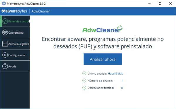 AdwCleaner ahora detecta y elimina entradas maliciosas en el archivo Hosts