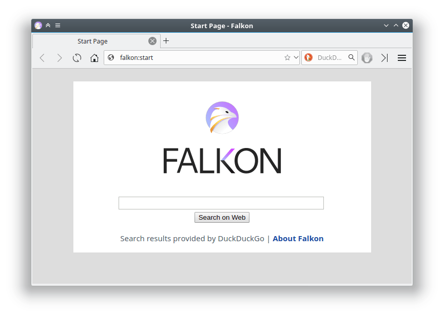 Falkon: El navegador de KDE para Windows
