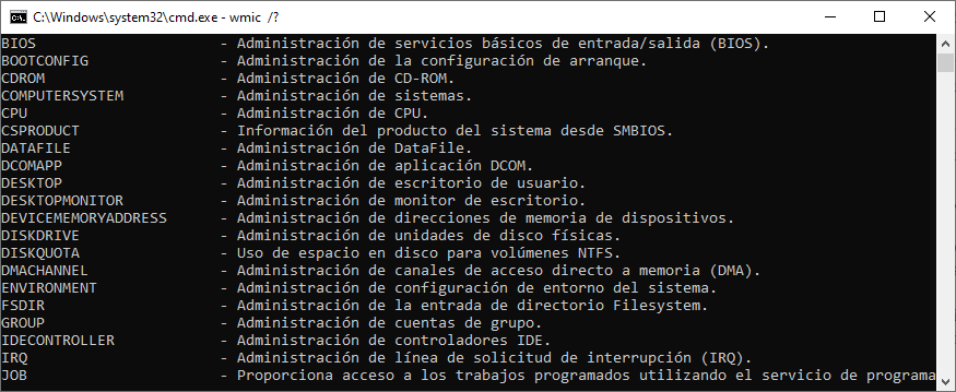 Cómo saber si un equipo con Windows 10 está infectado a través del Símbolo del Sistema