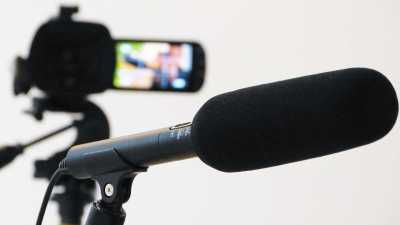 Microphones for vocal and room recording.
