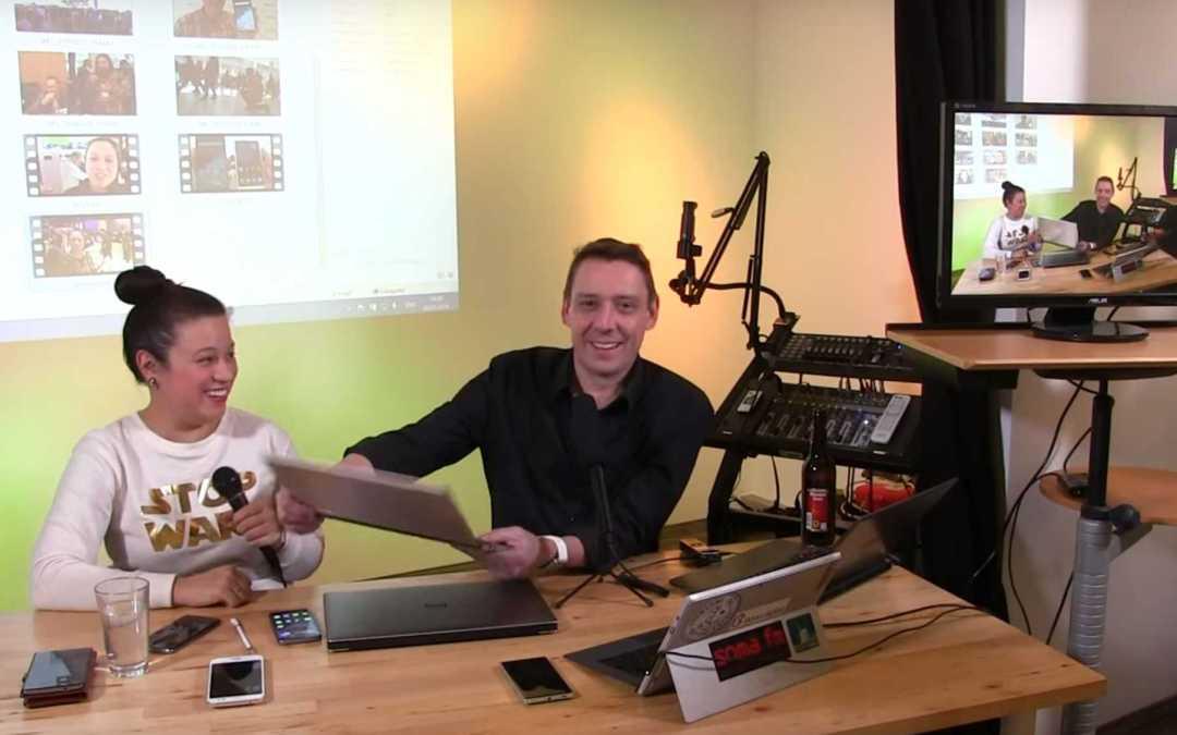 Bonn's Streaming Studio Friday.